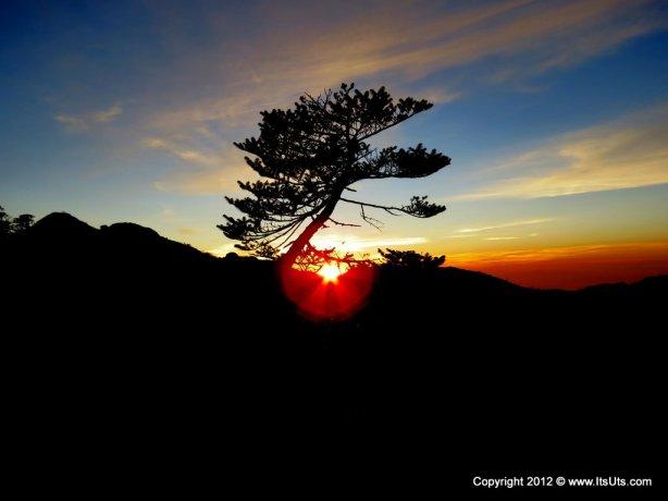 Sunset at Sandakpu