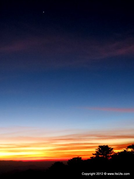 Sunset at Sandakphu